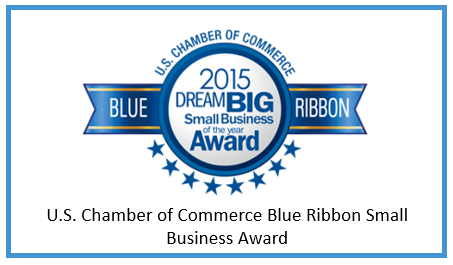 2015 U.S. Chamber of Commerce Small Business of the Year