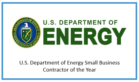 U.S. Department of Energy Small Business Contractor of the Year