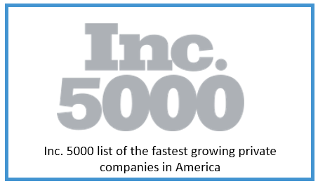 Inc. 5000 List of the Fastest Growing Private Companies in America